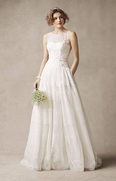 New Melissa Sweet Wedding Dresses: So Lovely I Almost Want to Get Married Again - Perfect drop waist
