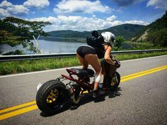 Just about ... Custom Motorcycles, Custom Bikes, Scooter 50cc, Bobber Style, Build A Bike, Scooter Custom, Stunt Bike, Honda Ruckus, Motorbike Girl