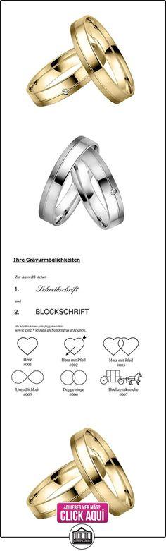 Rauschmayer un par de anillos boda Easy Pair 03689, Legierung:750/- oro blanco  ✿ Joyas para hombres especiales - lujo ✿ ▬► Ver oferta: https://comprar.io/goto/B0117HAYFA