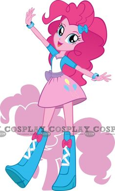 Pinkie Pie Cosplay from My Little Pony Costume My Little Pony Party, Fiesta Little Pony, Cumple My Little Pony, My Little Pony Costume, Mlp My Little Pony, My Little Pony Friendship, Equestria Girls, My Little Pony Equestria, Rainbow Dash