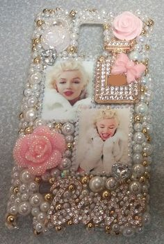 Marilyn Monroe Pink Gold iPhone Samsung Moto by ExpressiveCases