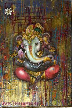 Art for my Dream Home - Ganesha by Teresagallery on Etsy, $3000.00