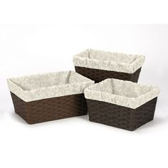 Sweet Jojo Designs Victoria Collection Basket Liners