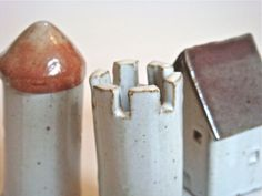 Little Ceramic houses