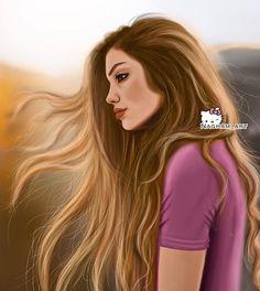 Art Drawings Beautiful, Amazing Drawings, Cartoon Girl Images, Girl Cartoon, Sarra Art, Chica Cool, Girly M, Cute Girl Drawing, Girly Drawings