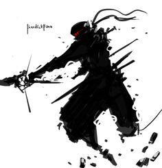 SteamPunk Ninja Assault by benedickbana.deviantart.com on @DeviantArt