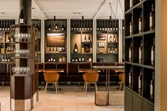 CR commissioned Izzard Design to refurbish their existing cellar to compete with world-class cellar doors around the world, and of course much research ensued. Cellar Doors, Interior Design Studio, Auckland, Hospitality, Vineyard, Range, Shelves, Projects, Furniture
