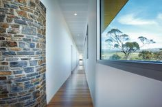 Read more on Grand Designs Australia: Series 3 · Episode 7 Grand Designs New Zealand, Humanity House, Grand Designs Australia, Glass House, Series 3, Modern Interior, Entrance, New Homes, Stairs