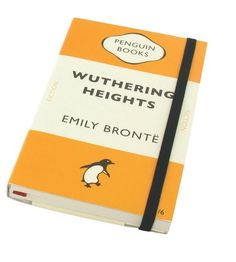 Wuthering Heights Penguin Triband Small Notebook by Wild and Wolf http://www.amazon.co.uk/dp/B002BYYZF4/ref=cm_sw_r_pi_dp_L0mswb1HPF9N0