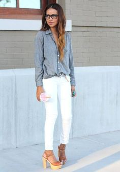 {how to} perfectly tuck your shirt