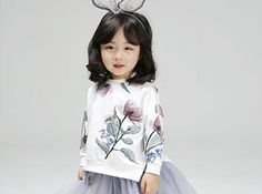 MIMICO - BRAND - Korean Children Fashion - #Kfashion4kids - Narcissus Tee NEW BRAND - Cute cute CUTEST!!! That pretty much sums up the style of Mimico.The Spring 2017 collection is listed here: www.kkami.nl/product-category/mimico/ #Mimico #cute #kidsbrand #wholesale #KKAMI