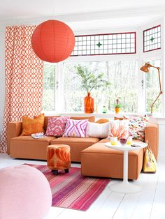a Colourful Summer House...