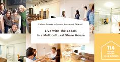 Borderless - share houses in Tokyo, Osaka, Korea and Taiwan aiming to promote cultural exchange between foreigners and locals. Welcoming people from all o…
