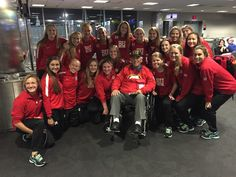 In proof that Terriers really are everywhere, our women's soccer team recently met Dr. John Stellitano (SED'74) while waiting at the airport in Washington, D.C. Dr. Stellitano, a veteran, was in our nation's capitol to visit the National World War II Memorial as part of the Honor Flight program.
