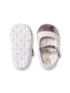 298e287ac46cf Ballerines bimatière bébé Chaussures Bébé Fille
