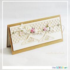 Odskocznia vairatki: Mrs&Mr Wedding Cards, Scrapbooking, Handmade, Decor, Art, Wedding Ecards, Art Background, Hand Made, Decoration