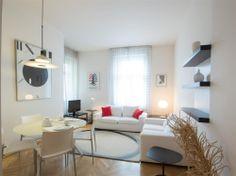 1 bedroom apartment for rent, Polská, Prague Vinohrady Prague, Flat Rent, One Bedroom Apartment, Apartments, Corner Desk, Real Estate, Boutique, Furniture, Home Decor