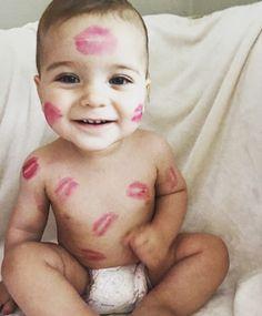 My son my Baby valentine  #babylove #baby #kisses #babyvalentine #cupid