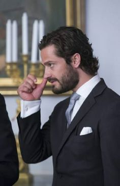 Prince Carl Philip at the National Day reception, Royal Palace of Stockholm, 2014-06-06