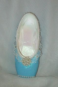 Decorated pointe shoe inspired by the ballet by FetchingFabulous, $35.00