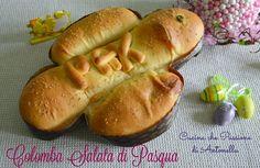 colomba salata di pasqua Hot Dog Buns, Hot Dogs, Bread, Food, Easter, Spring, Colombia, Brot, Essen