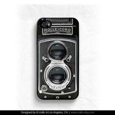 Vintage Camera iPhone 4 Case iPhone 4S case iPhone 5 door CRAFIC, $19.99