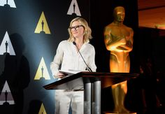 Actress Cate Blanchett at the Foreign Language Film Award Directors Reception at the Academy of Motion Picture Arts And Sciences on (February 26, 2016) in Los Angeles, California