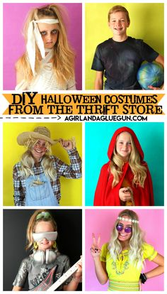 Halloween Costumes to DIY from the thrift store A girl and a glue gun Kimberly. - Halloween Costumes to DIY from the thrift store A girl and a glue gun Kimberly West a girl and H - Scarecrow Costume, Couple Halloween Costumes, Mummy Costumes, Vampire Costumes, Woman Costumes, Pirate Costumes, Group Costumes, Halloween 2020, Adult Costumes