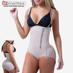 e51d6cf156a Hot Body Shaper Waist Trainer Vest Shapewear Fajas Reductoras Bodysuit Plus  Size Underwear With Zipper