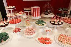 Dreamy Christmas sweet table