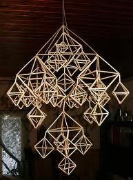 himmeli, a geometric hanging mobile, is swedish for sky