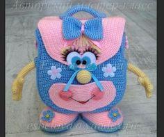 carina baltzer's media statistics and analytics Crochet Bunny Pattern, Crochet Dolls Free Patterns, Crochet Beach Bags, Crochet For Kids, Crochet Purses, Crochet Toys, Crochet Parrot, Crochet Backpack, Crochet Basics