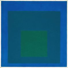 GREAT RESOURCE FOR SQUARES  Josef Albers, 'Study for Homage to the Square: Beaming' 1963