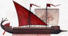 The Byzantines employed horse-transports (hippagōga), which were either sailing ships or galleys, the latter modified to accommodate the horses. Given that the chelandia appear originally to have been oared horse-transports, this would imply differences in construction between the chelandion and the dromōn proper. While the dromōn was developed exclusively as a war galley, the chelandion had a special compartment amidships to accommodate a row of horses, increasing its beam and hold depth.