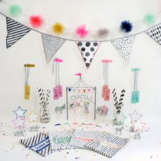 Circus Party in a Tote by WonderfulCollective on Etsy