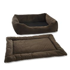 Pet Dreams 2-in-1 Plush Bumper Dog Bed and Pad Set *** Trust me, this is great! Click the image. : dog beds