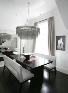 Fiona Barratt Interiors. White, Black, greige and grey