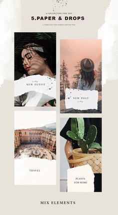 Instagram Stories Template Story instagram Paper Social Media Template Insta  Template, E-Commerce T