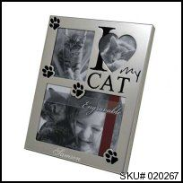I Love My Cat Frame Great for any cat lover!  #thingsengraved #thingsengravedgifts