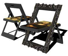 chairs by kwang hoo lee... art as furniture as art!