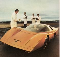 Holden Hurricane concept, 1969  A mid-engined showcase for Holden's new locally designed V8 motor, recently restored to its former glory.