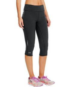 uk availability 8548e ac736 Amazon.com   Under Armour Womens Stunner Capri Running Tights - Medium -  Purple   Sports   Outdoors