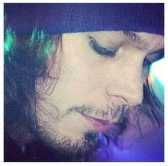 "VILLE VALO HIM Tumblr he's the reason why I know the meaning of the word ""impossible""! Oh I hate this word!"