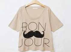 mustache + french = me