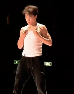 Jimin-ah ARE YOU TRY KILLING ME ??!!! OMG his abs °-°
