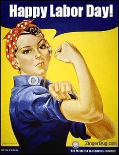 Perhaps the most iconic World War Two poster, Rosie the Riveter is an image that is recognized by people who couldn't tell you which countries were fighting in the war. But who was Rosie the Riveter? Find out in this article by Madeleine Winer. Rosie The Riveter, Pin Up, College Dorm Posters, Protest Posters, Ww2 Posters, Library Posters, Retro Posters, History Posters, Protest Art