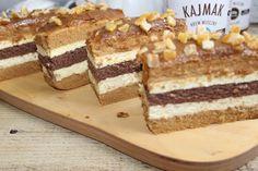 Ciasto krówka z kakaowym wnętrzem | Słodkie okruszki Tiramisu, Ethnic Recipes, Food, Essen, Meals, Tiramisu Cake, Yemek, Eten