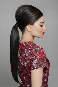 Prim and Proper Mid Pony - Style by KTIZO Hair & Skin Pony Style, Backless, Hair, Dresses, Fashion, Vestidos, Moda, La Mode, Fasion