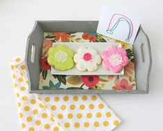 Easy Mother's Day Gifts - Cookie Tray