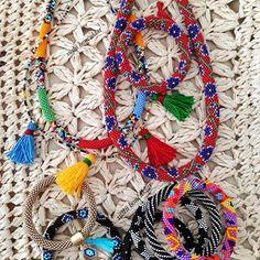 🅗🅐🅝🅓🅜🅐🅓🅔 🅑🅔🅐🅓🅢 (@suslu_boncuklar) • Instagram fotoğrafları ve videoları Crochet Necklace, Jewelry, Instagram, Jewlery, Jewerly, Schmuck, Jewels, Jewelery, Fine Jewelry